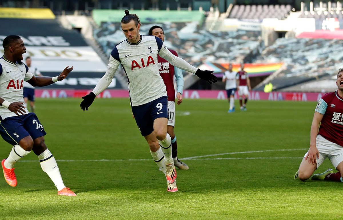 Bale thi đấu thăng hoa để giúp Tottenham chiến thắng. (Nguồn: Getty Images)