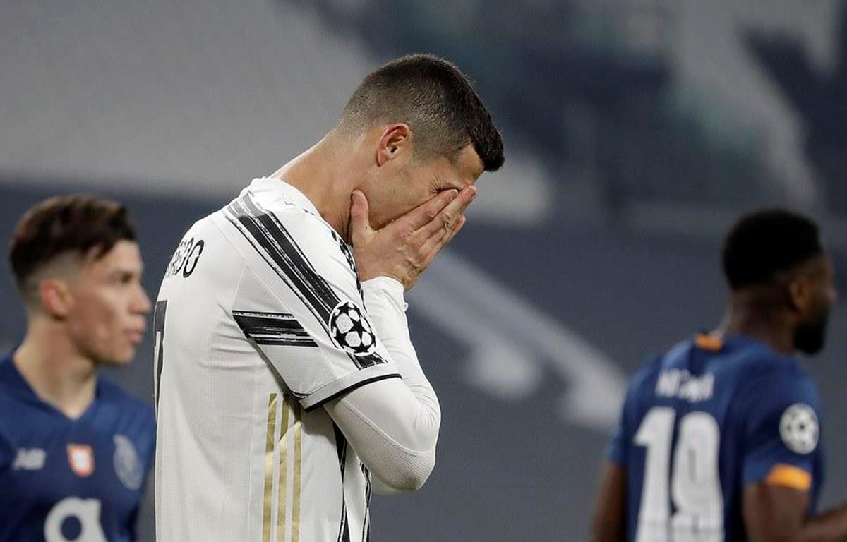 Juventus năm thứ 2 liên tiếp bị loại từ vòng 1/8 Champions League. (Nguồn: AP)