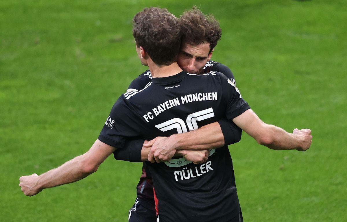 Muller và Leon giúp Bayern chiến thắng. (Nguồn: Getty Images)