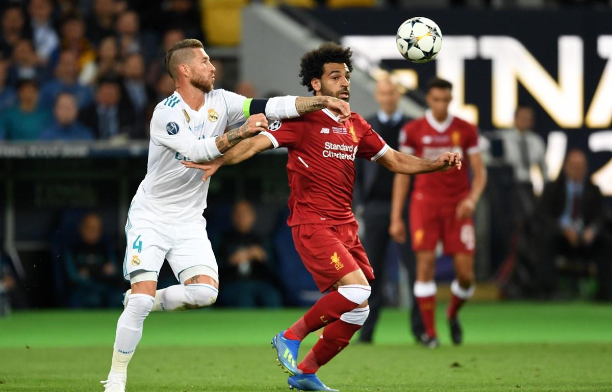 Real sẽ không có Ramos (áo trắng) khi tái ngộ Liverpool. (Nguồn: Getty images)