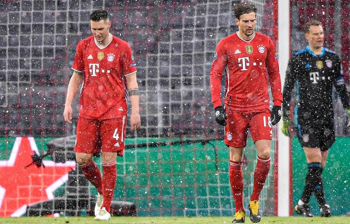 Goretzka và Niklas Suele chấn thương ở trận thua của Bayern trước PSG. (Nguồn: Imago)