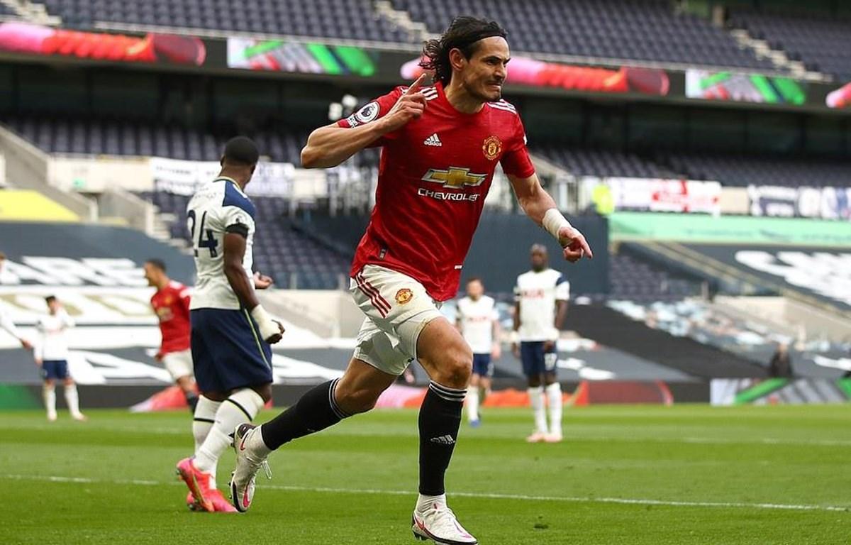Cavani ghi bàn giúp Manchester United chiến thắng. (Nguồn: Getty Images)