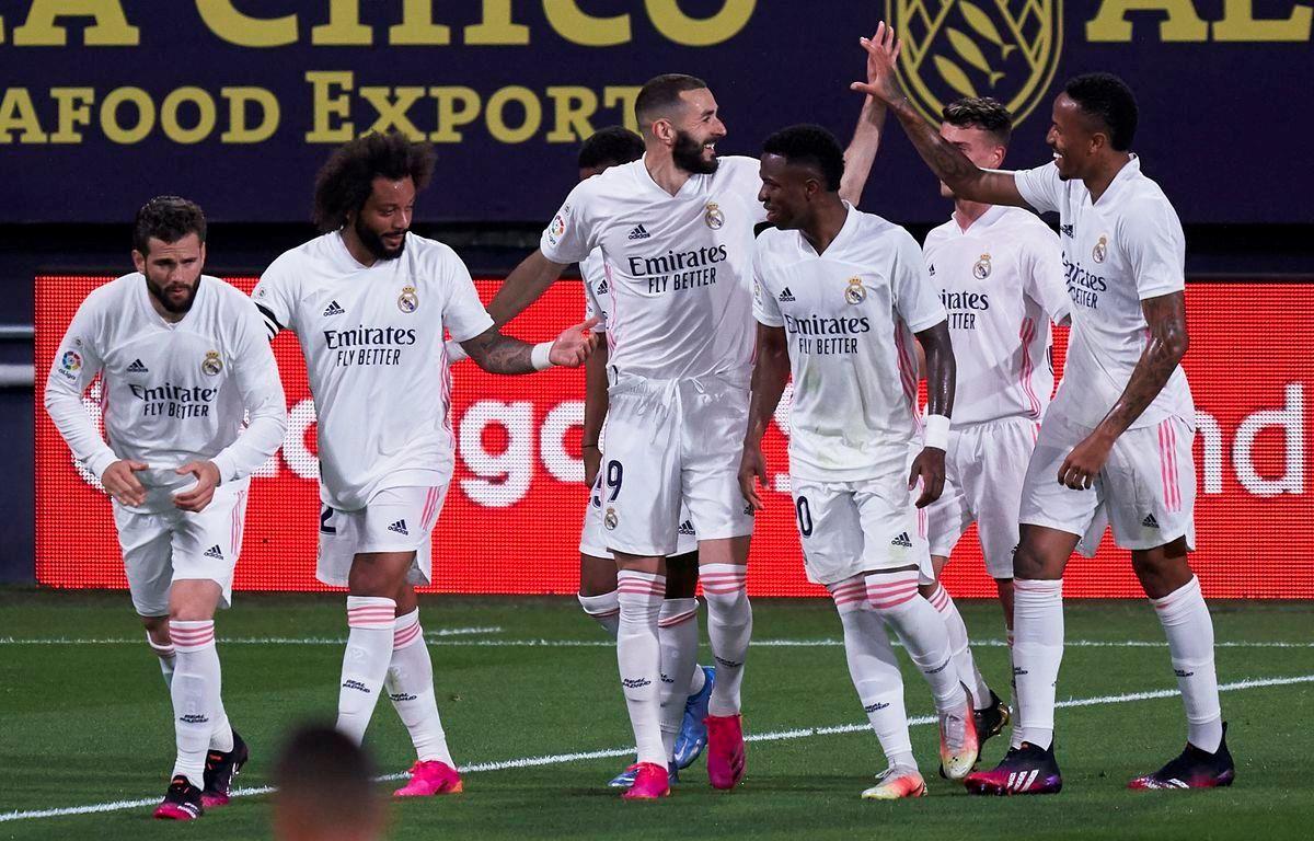 Real Madrid tạm trở lại ngôi đầu La Liga. (Nguồn: Getty Images)