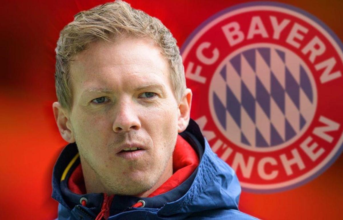 Julian Nagelsmann trở thành HLV của Bayern Munich. (Nguồn: Getty Images)