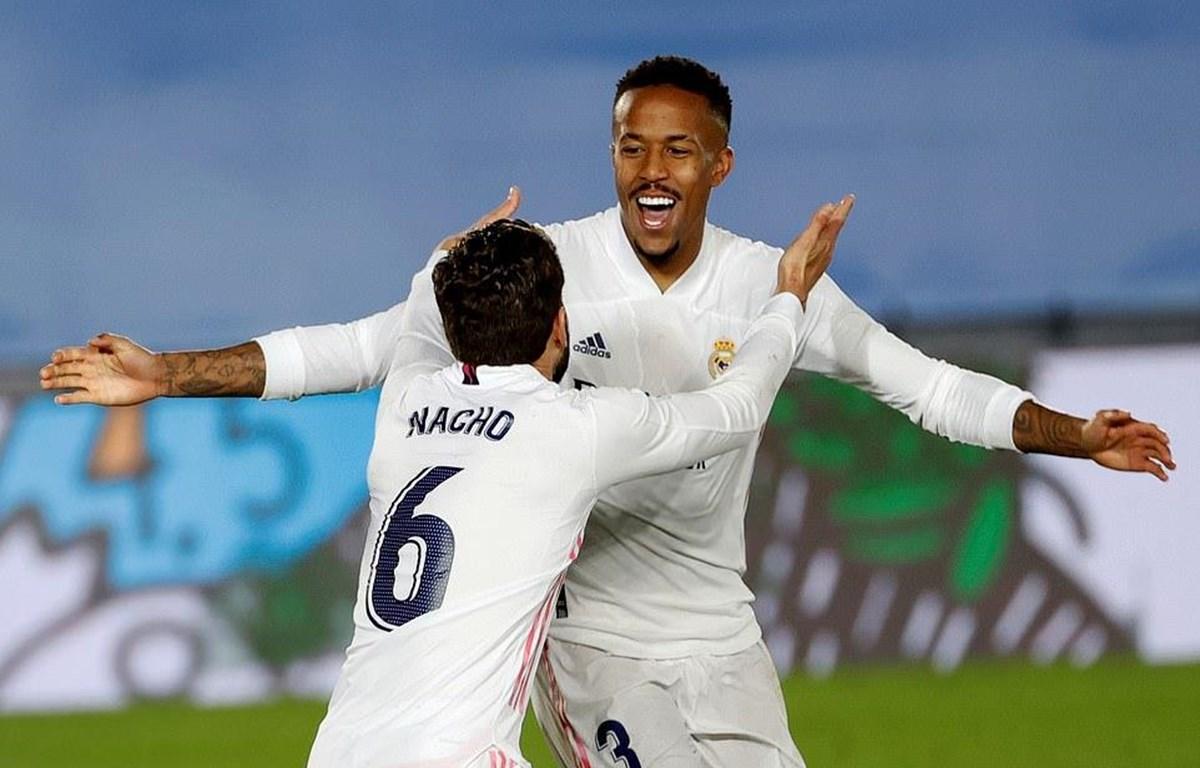 Real Madrid tiếp tục cuộc đua đến ngôi vương. (Nguồn: EPA)