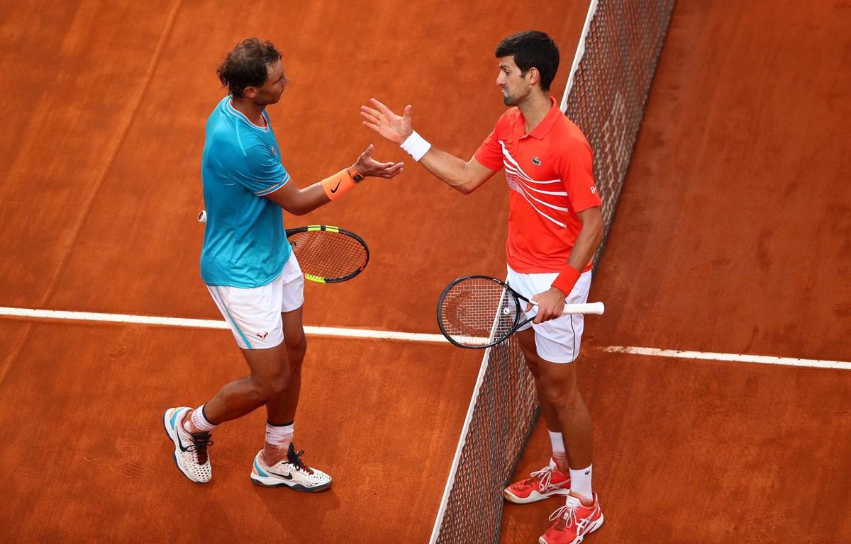 Nadal và Djokovic lại có dịp chạm trán nhau. (Nguồn: AP)