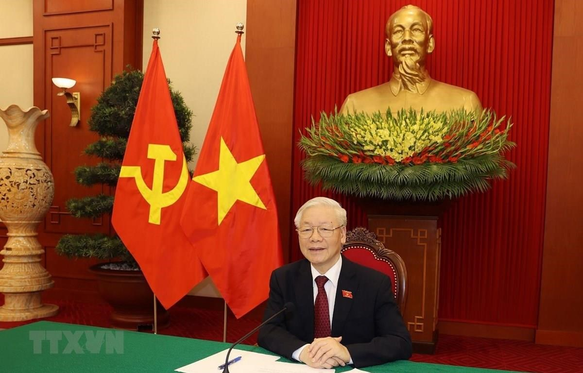 Tổng Bí thư Nguyễn Phú Trọng. (Ảnh: Trí Dũng/TTXVN)