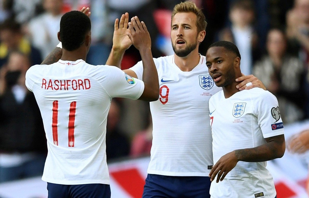 Nhiều ngôi sao góp mặt trong thành phần tuyển Anh dự EURO 2020. (Nguồn: Reuters)