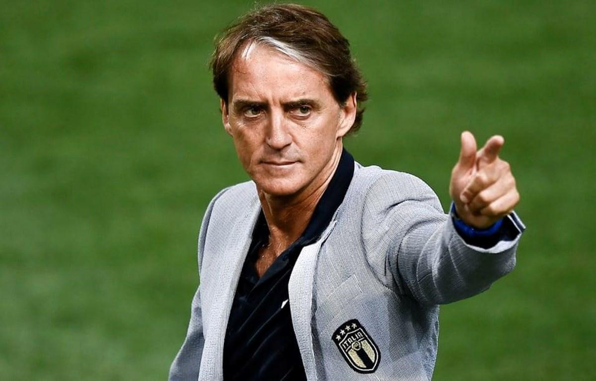 Mancini giúp Italy trở lại đầy ấn tượng. (Nguồn: Getty Images)