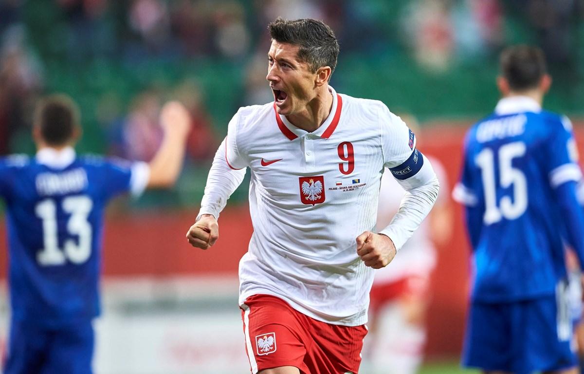 Robert Lewandowski đặc biệt quan trọng với đội tuyển Ba Lan. (Nguồn: Getty Images)