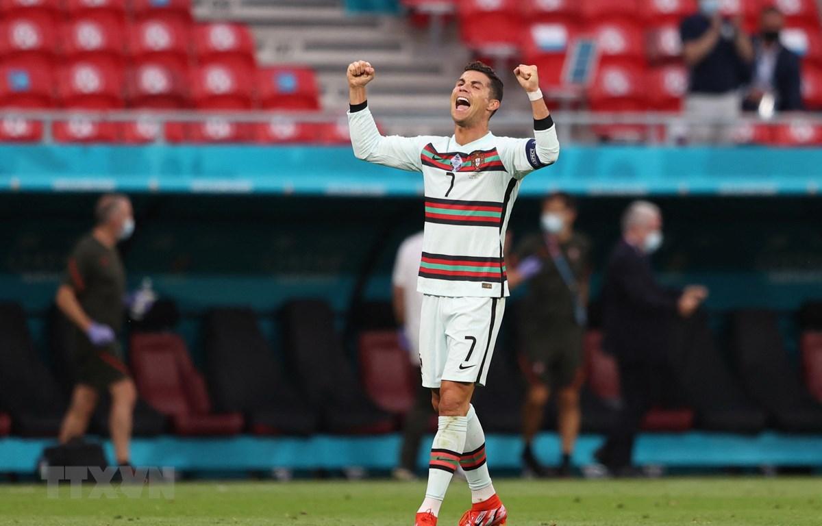 Ronaldo đang là chân sút vĩ đại nhất lịch sử EURO. (Ảnh: AFP/TTXVN)