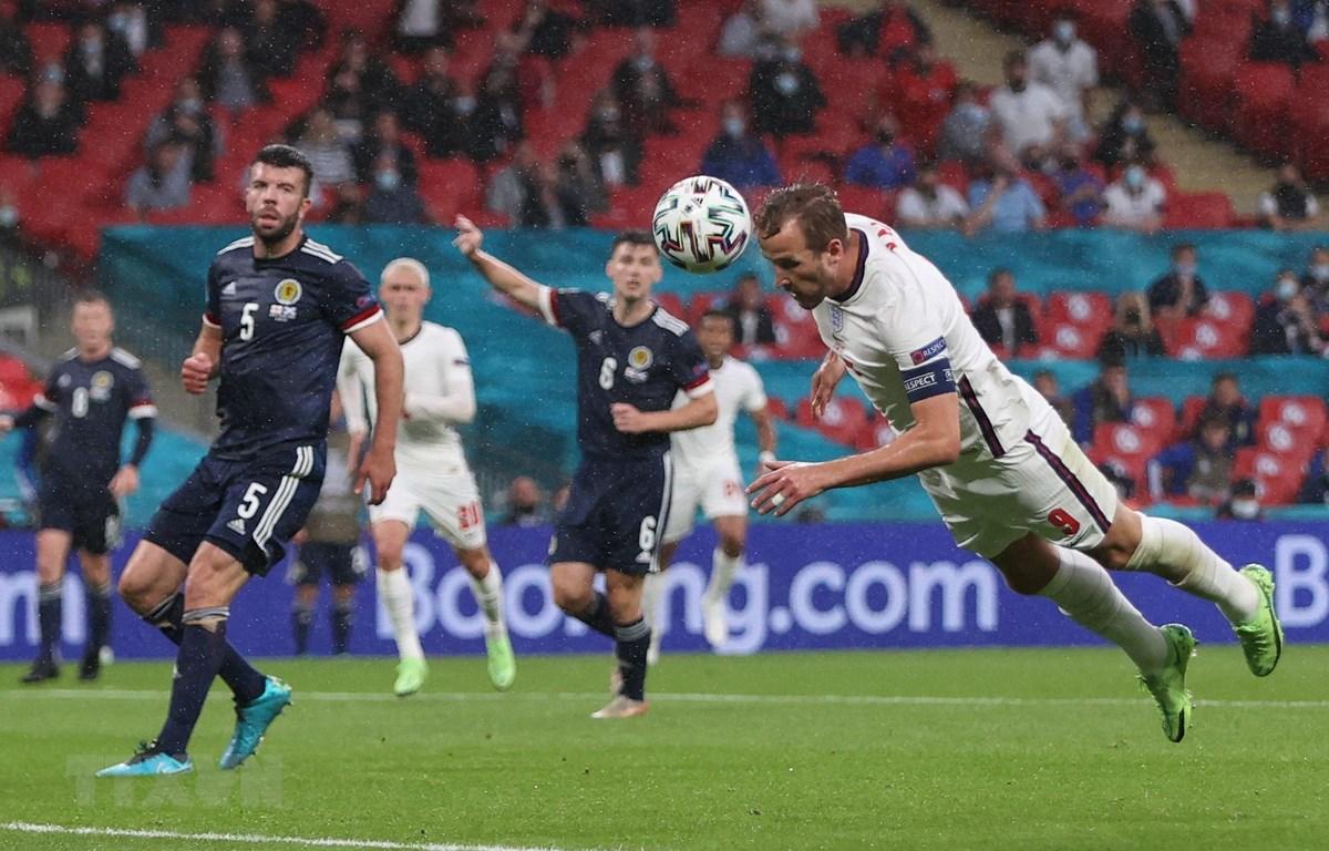 Đội tuyển Anh 'bất lực' trước Scotland. (Ảnh: AFP/TTXVN)