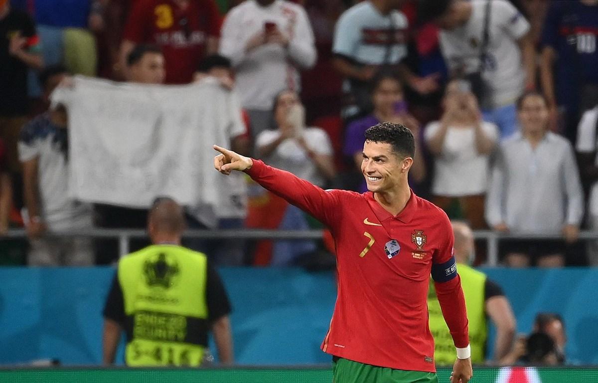 Ronaldo đã có 109 bàn cho đội tuyển Bồ Đào Nha. (Ảnh: AFP)