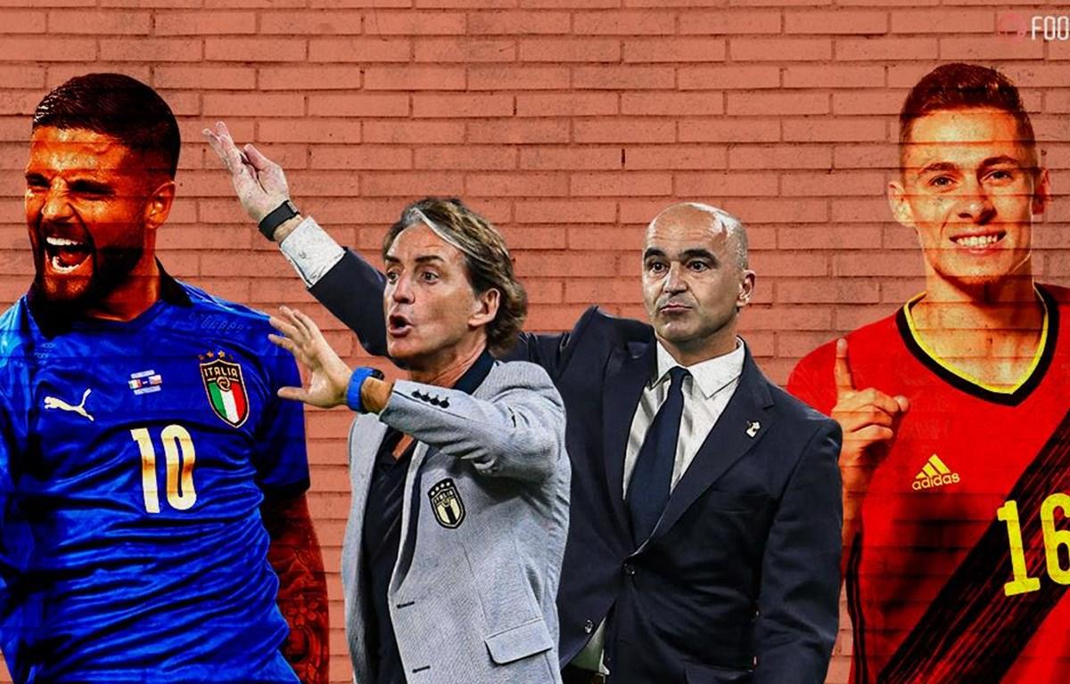 Nhận định Bỉ vs Italia, 2h00 ngày 3/7, tứ kết EURO 2020