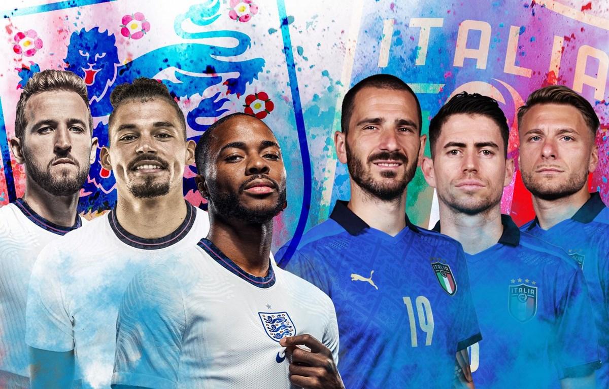 Italy hay Anh sẽ trở thành nhà vô địch EURO 2020?