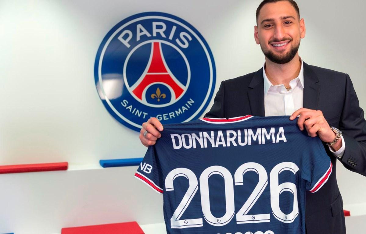 Donnarumma sẽ thi đấu cho Paris Saint-Germain đến tháng 6/2026. (Nguồn: psg.fr)