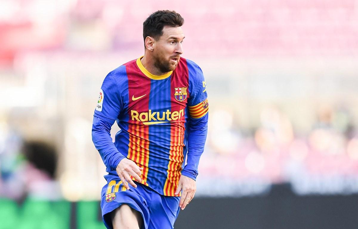 Messi gắn bó với Barcelona đến 2026. (Nguồn: Getty Images)