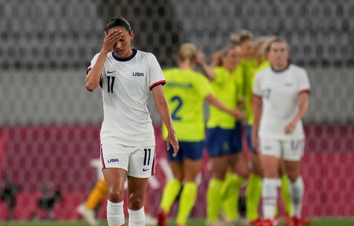 Mỹ gây thất vọng với thất bại 0-3 trước Thụy Điển. (Nguồn: AP)