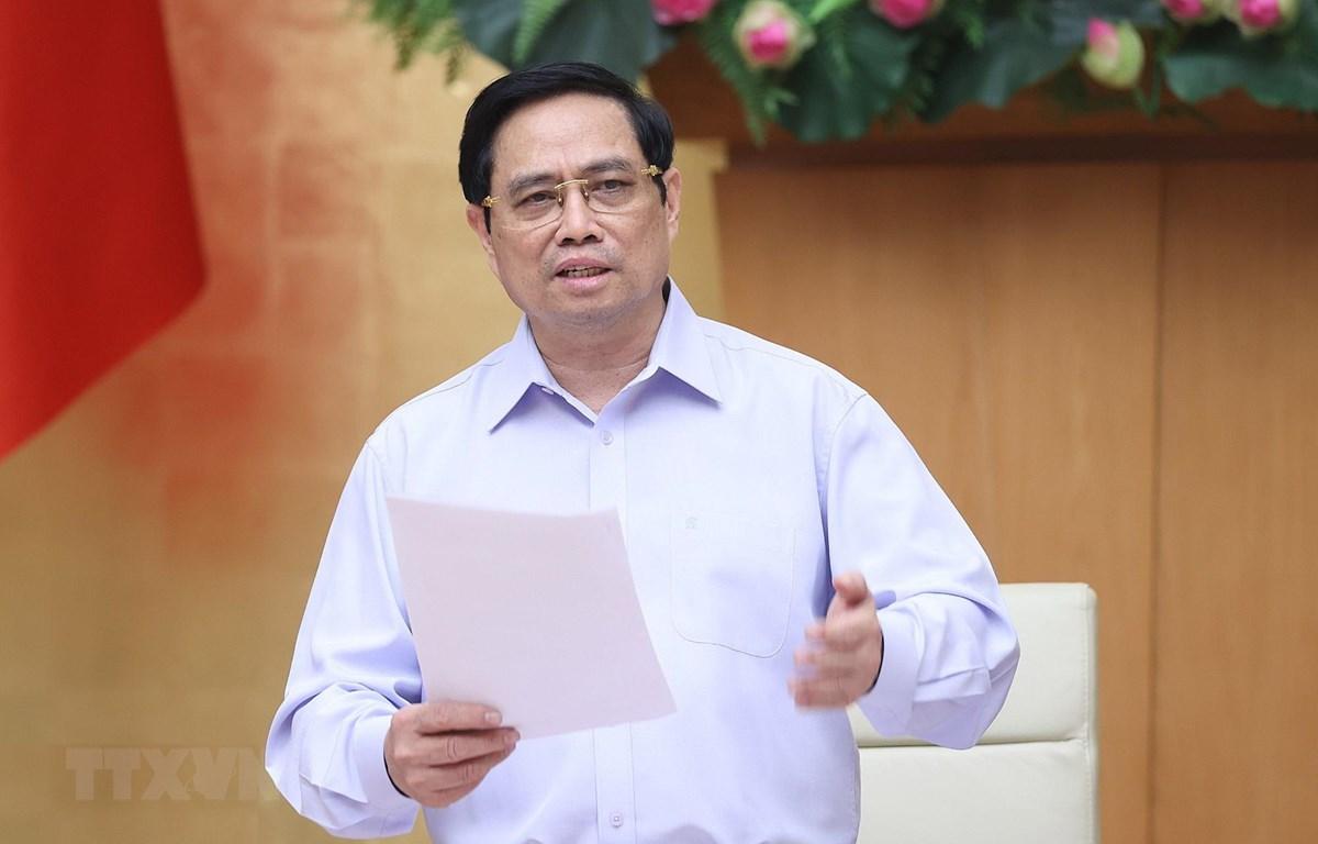 Thủ tướng Phạm Minh Chính. (Ảnh: Dương Giang/TTXVN)