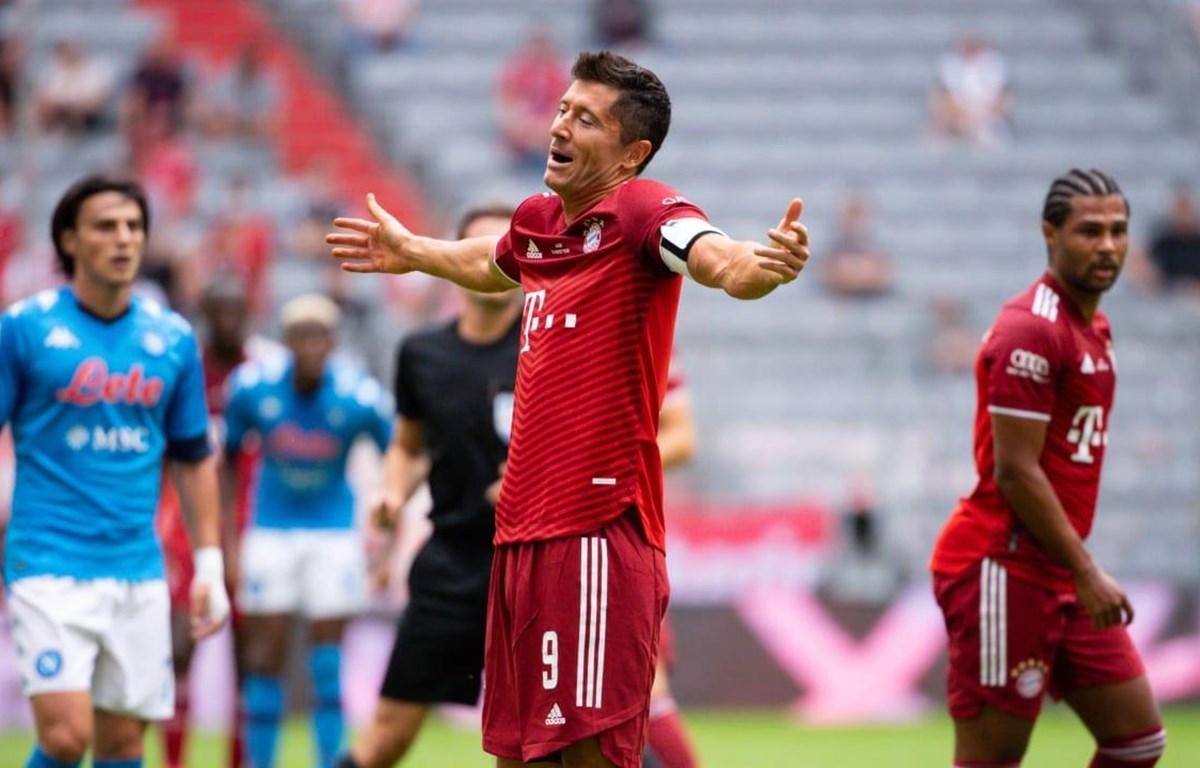 Lewandowski trở lại nhưng Bayern vẫn chưa biết thắng. (Nguồn: Getty Images)