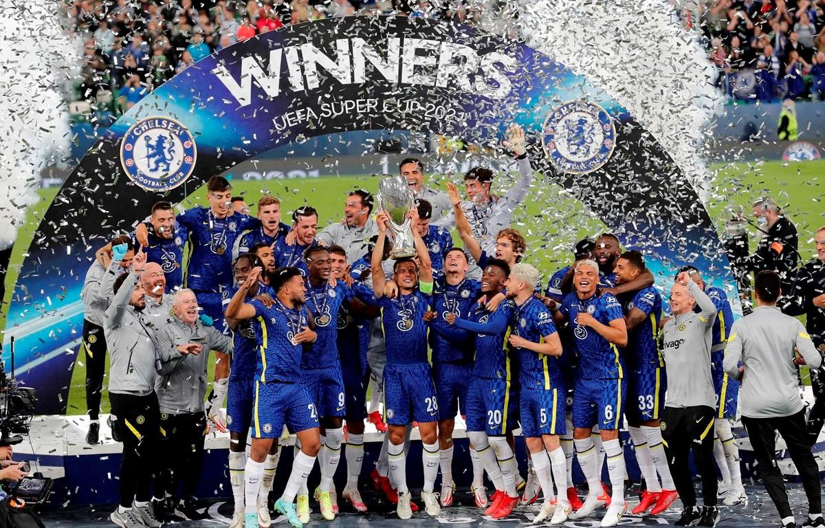 Chelsea giành Siêu cúp châu Âu 2021. (Nguồn: Getty Images)