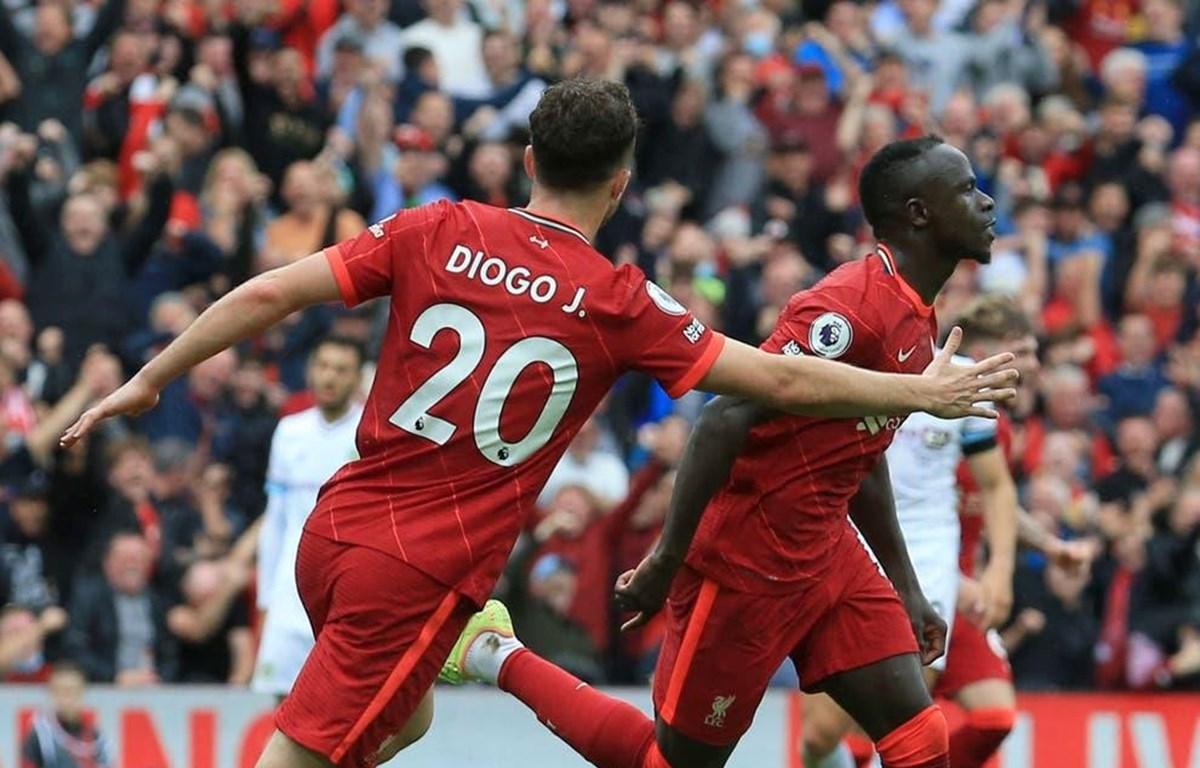 Jota và Mane cùng nhau lập công giúp Liverpool chiến thắng. (Nguồn: Getty Images)