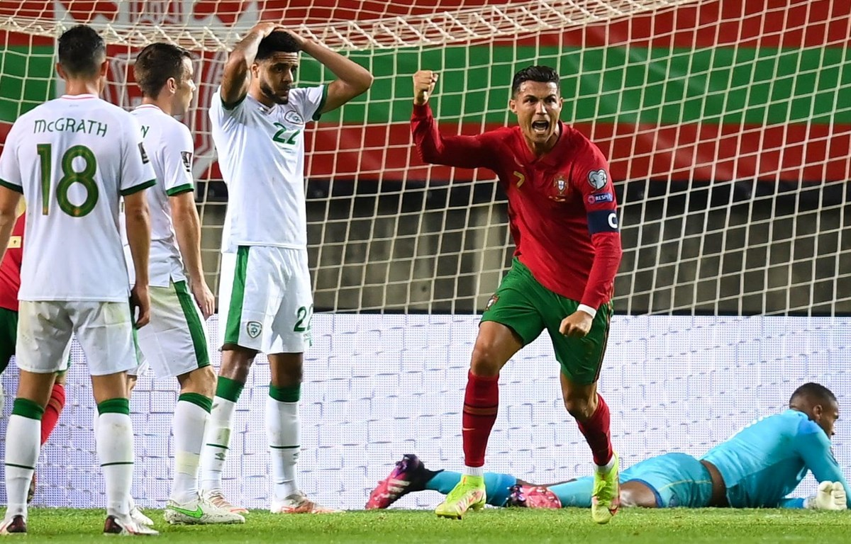 Ronaldo mang chiến thắng về cho Bồ Đào Nha. (Nguồn: Getty Images)