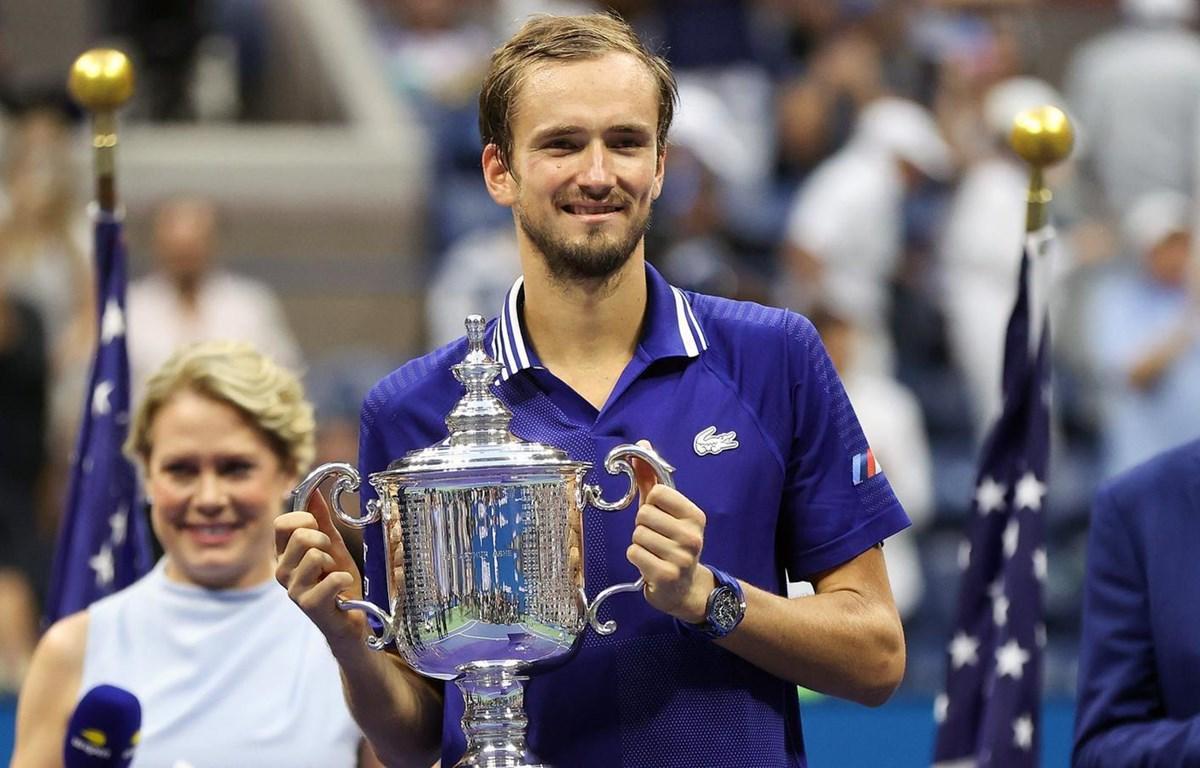 Daniil Medvedev lên ngôi US Open 2021. (Nguồn: Getty Images)