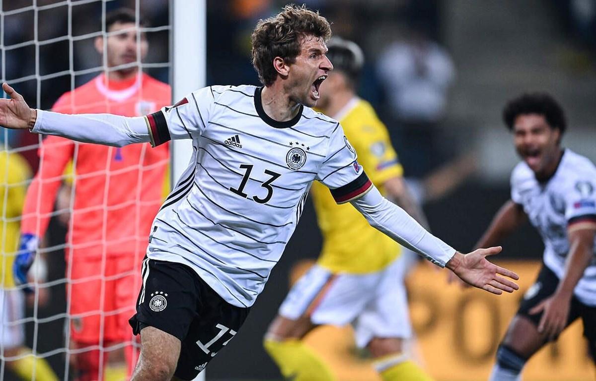 Thomas Mueller tỏa sáng mang chiến thắng về cho tuyển Đức. (Nguồn: Dfb.de)