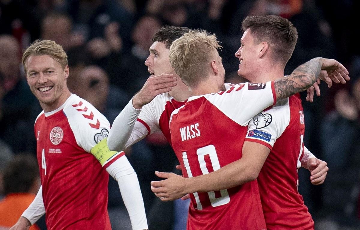 Đan Mạch giành vé đến Qatar dự World Cup 2022. (Nguồn: Getty Images)