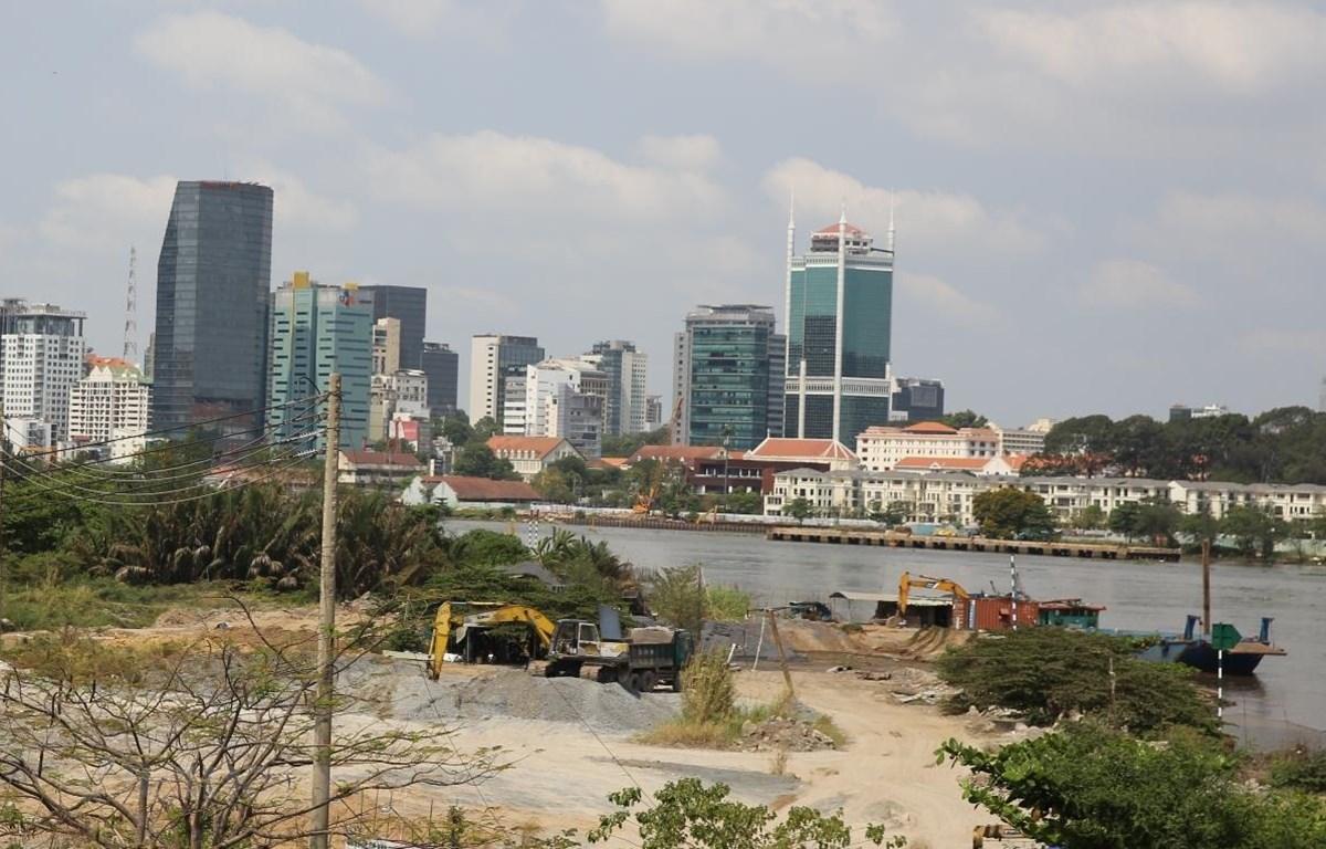 Một góc Thành phố Hồ Chí Minh. (Ảnh: Hùng Võ/Vietnam+)