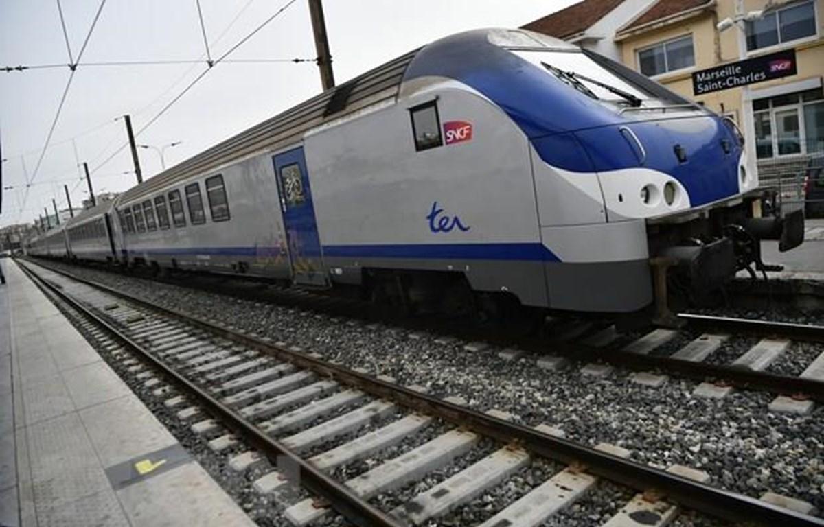 Đường sắt tốc độ cao của Pháp. (Nguồn: AFP/TTXVN)