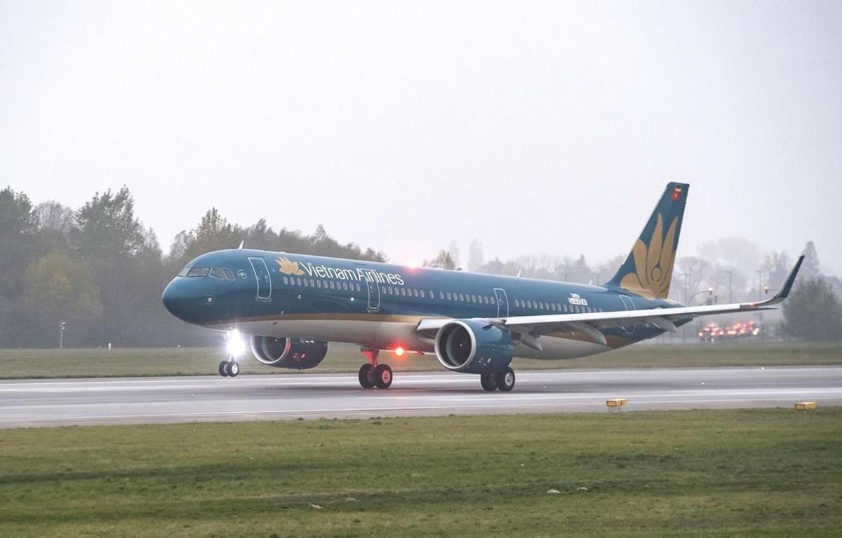 Vietnam Airlines bắt đầu khai thác đường bay Đà Nẵng-Đà Lạt bằng máy bay Airbus A321 với chất lượng dịch vụ quốc tế 4 sao. (Ảnh: Anh Tuấn)