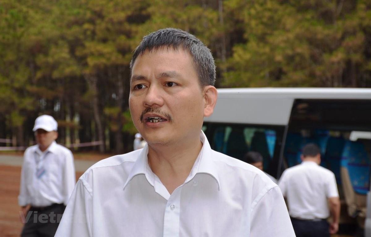 Ông Lại Xuân Thanh, Chủ tịch Hội đồng thành viên Tổng Công ty Cảng hàng không Việt Nam. (Ảnh: Việt Hùng/Vietnam+)