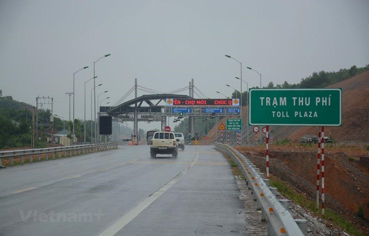 Tên gọi trạm thu phí lại một lần nữa được Bộ Giao thông Vận tải đề xuất tên gọi mới. (Ảnh: Việt Hùng/Vietnam+)