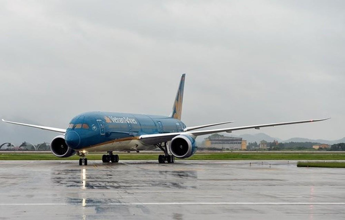 Máy bay Boeing 787-9 Dreamliner của Vietnam Airlines. (Ảnh: Vietnam Airlines cung cấp)