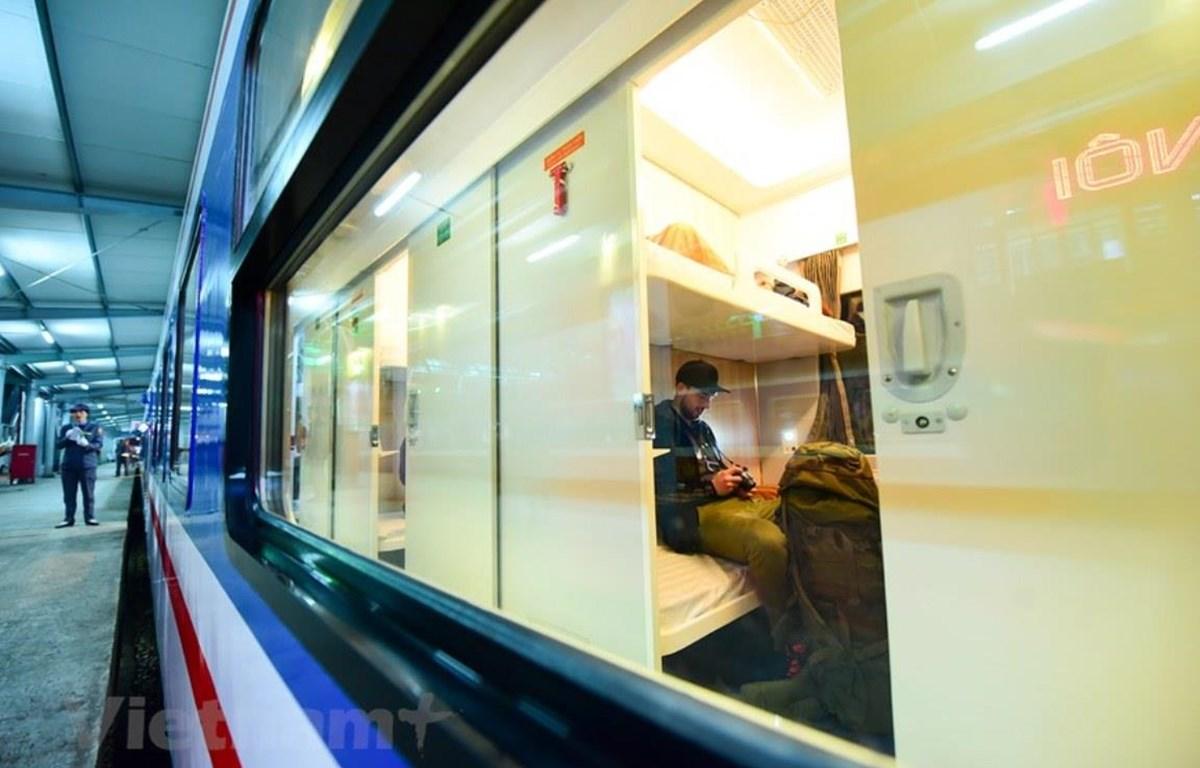 Các đoàn tàu 5 sao là sản phẩm hợp nhất của 4 ngành cơ khí gồm Đường sắt, Hàng không, Công nghiệp tàu thủy và Công nghiệp ôtô. (Ảnh: Minh Sơn/Vietnam+)