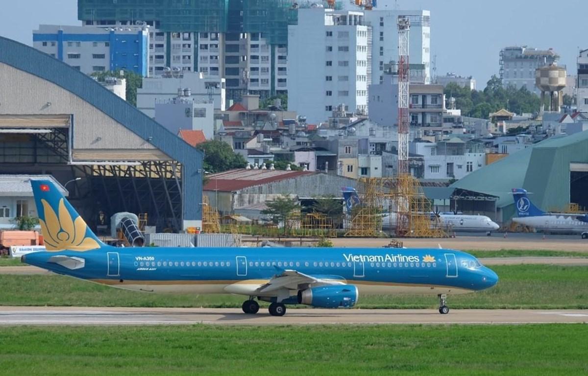 Máy bay của Vietnam Airlines sẽ được khai thác đến Busan. (Ảnh: Đức Anh)