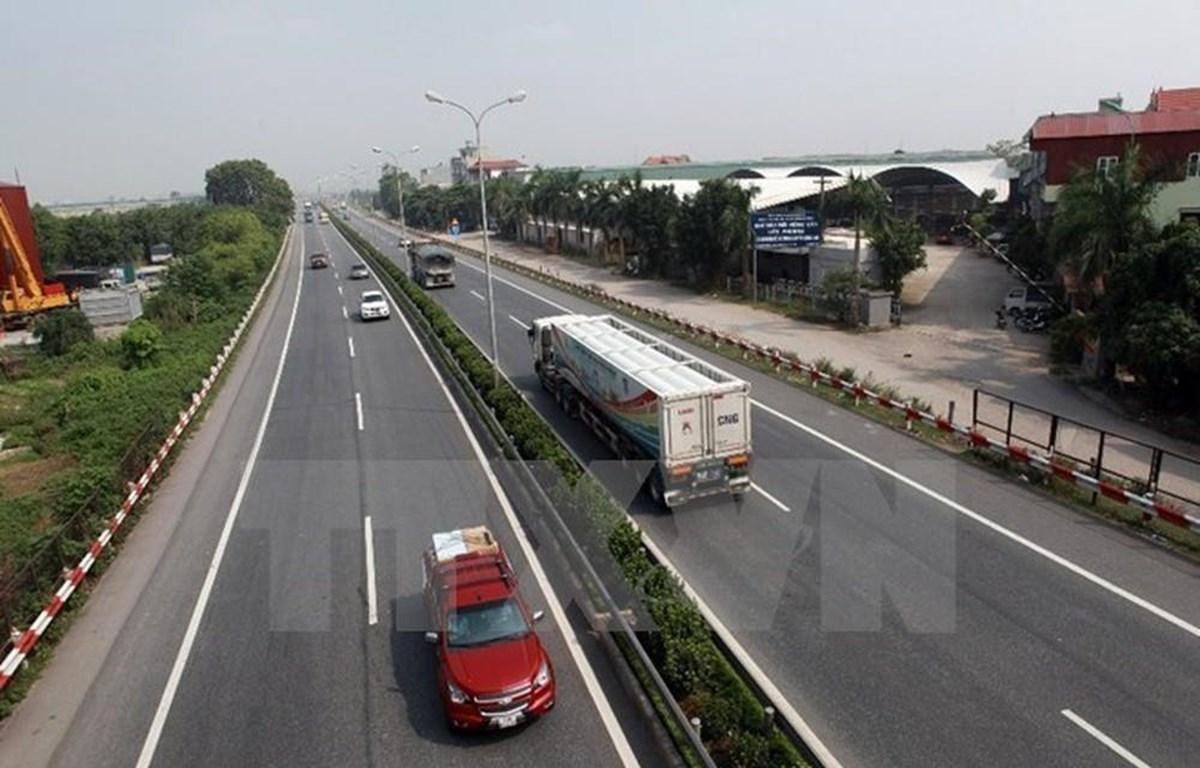 Dự án cao tốc Bắc-Nam có mức phí đường khởi điểm 1.500 đồng/km. (Ảnh: TTXVN)