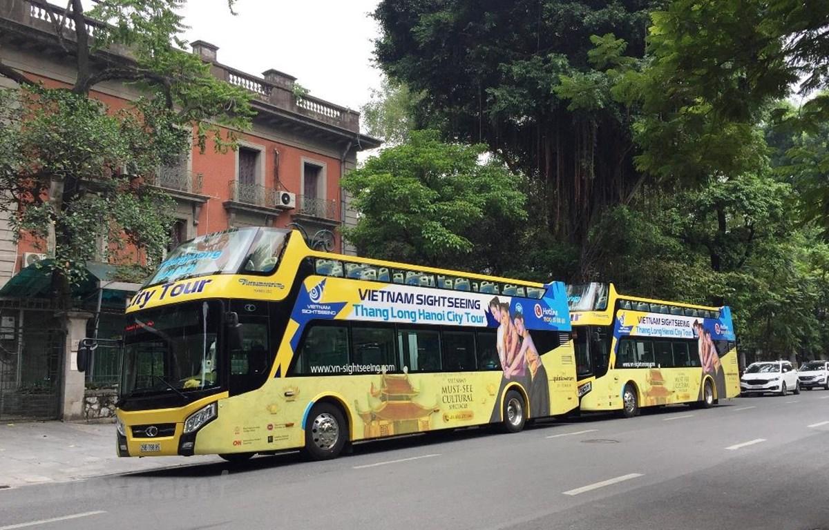 Tuyến xe City Tour 02 mới được điều chỉnh có lộ trình trùng 90% với tuyến City Tour 01. (Ảnh: Việt Hùng/Vietnam+)