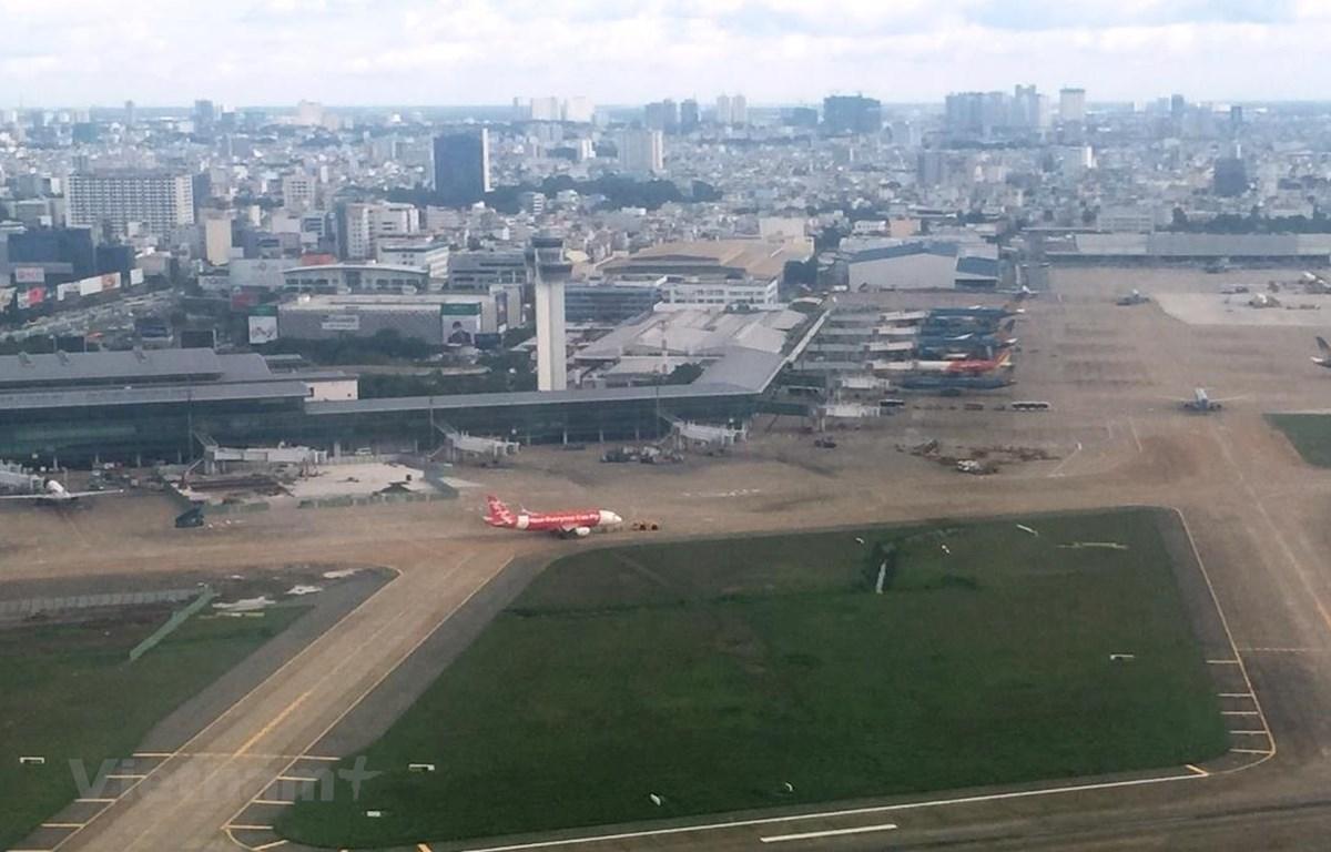 Ở Việt Nam hiện có sân bay Nội Bài, Tân Sơn Nhất và Đà Nẵng đều là những sân bay cửa ngõ quốc gia. (Ảnh: Việt Hùng/Vietnam+)