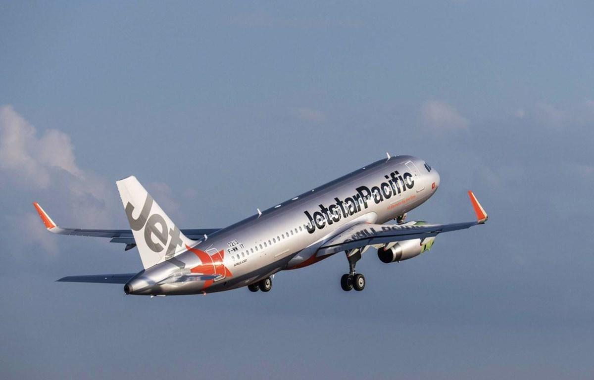 Máy báy của hãng hàng không giá rẻ Jetstar Pacific. (Ảnh: Tiến Sỹ/Vietnam)