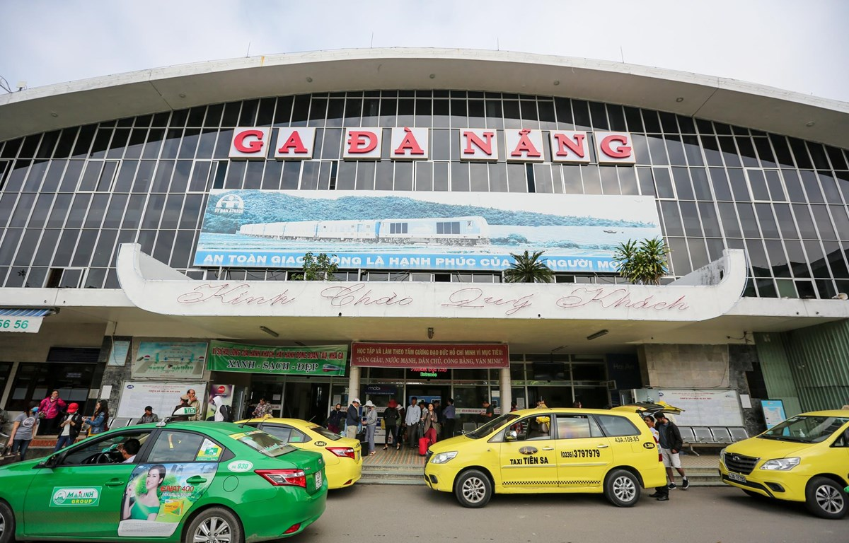 Ga Đà Nẵng cũng đã được đề xuất và lên kế hoạch di dời. (Ảnh: Minh Sơn/Vietnam+)