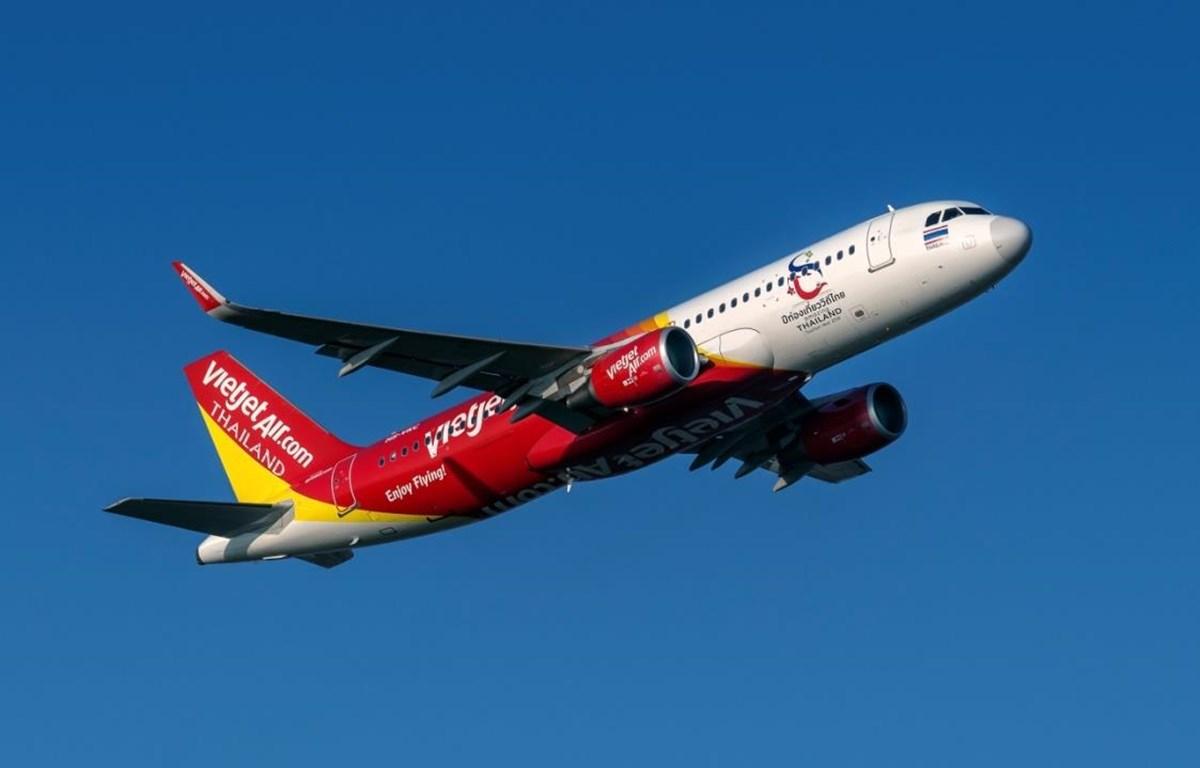 Máy bay của hãng hàng không Vietjet. (Ảnh: CTV/Vietnam)
