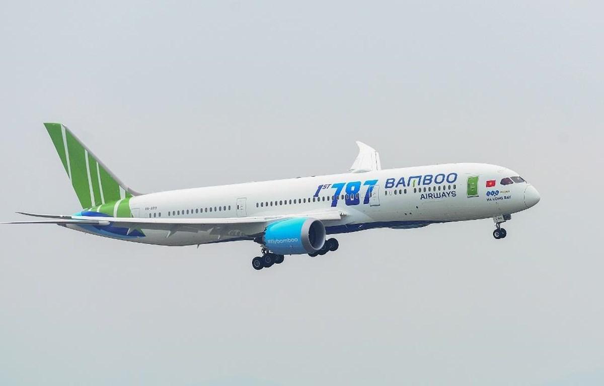 Hãng hãng không Bamboo Airways đã vừa đạt được chứng nhận đánh giá an toàn khai thác. (Ảnh: CTV/Vietnam+)