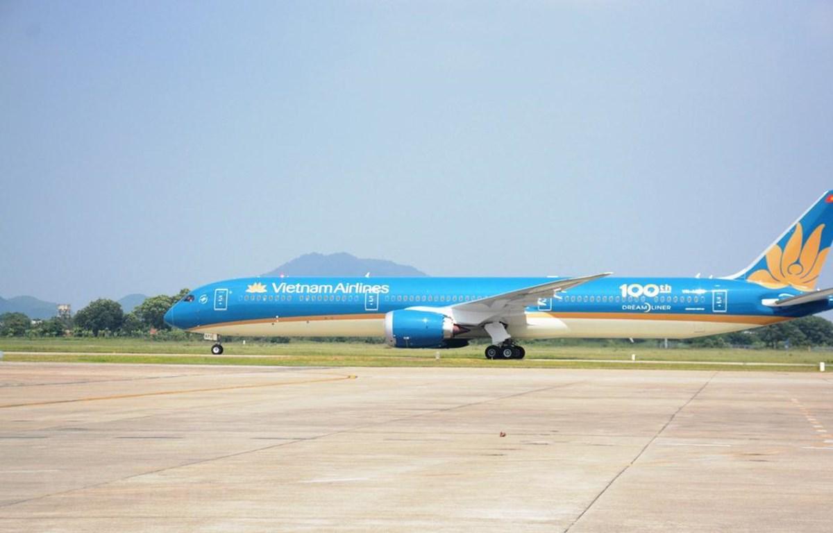 Vietnam Airlines đã gặt hái được nhiều thành công về kết quả sản xuất kinh doanh trong năm 2019. (Ảnh: Việt Hùng/Vietnam+)