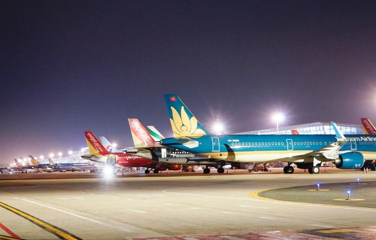 Các hãng hàng hàng không Việt Nam đã chịu thiệt hại rất lớn sau việc phải đóng cửa các đường bay đến Trung Quốc. (Ảnh: CTV/Vietnam+)