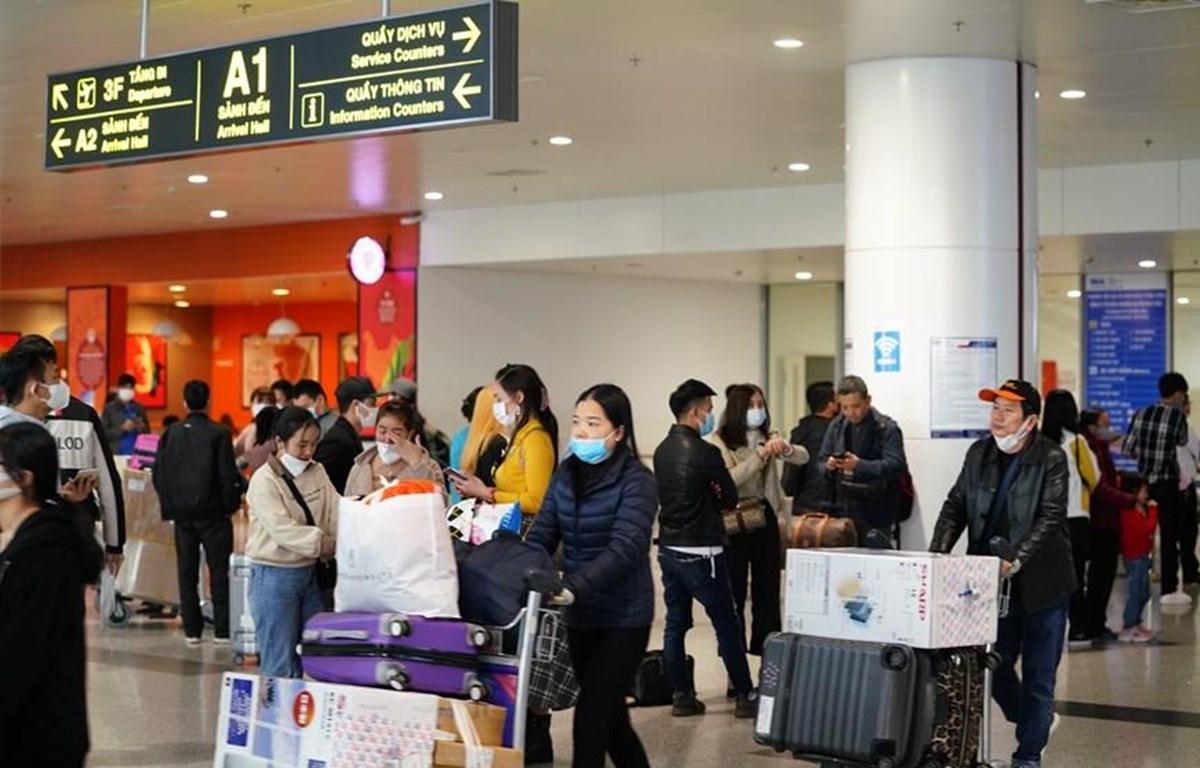 Lượng khách đến các cảng hàng không đã sụt giảm nghiêm trọng. (Ảnh: Phan Công/Vietnam+)