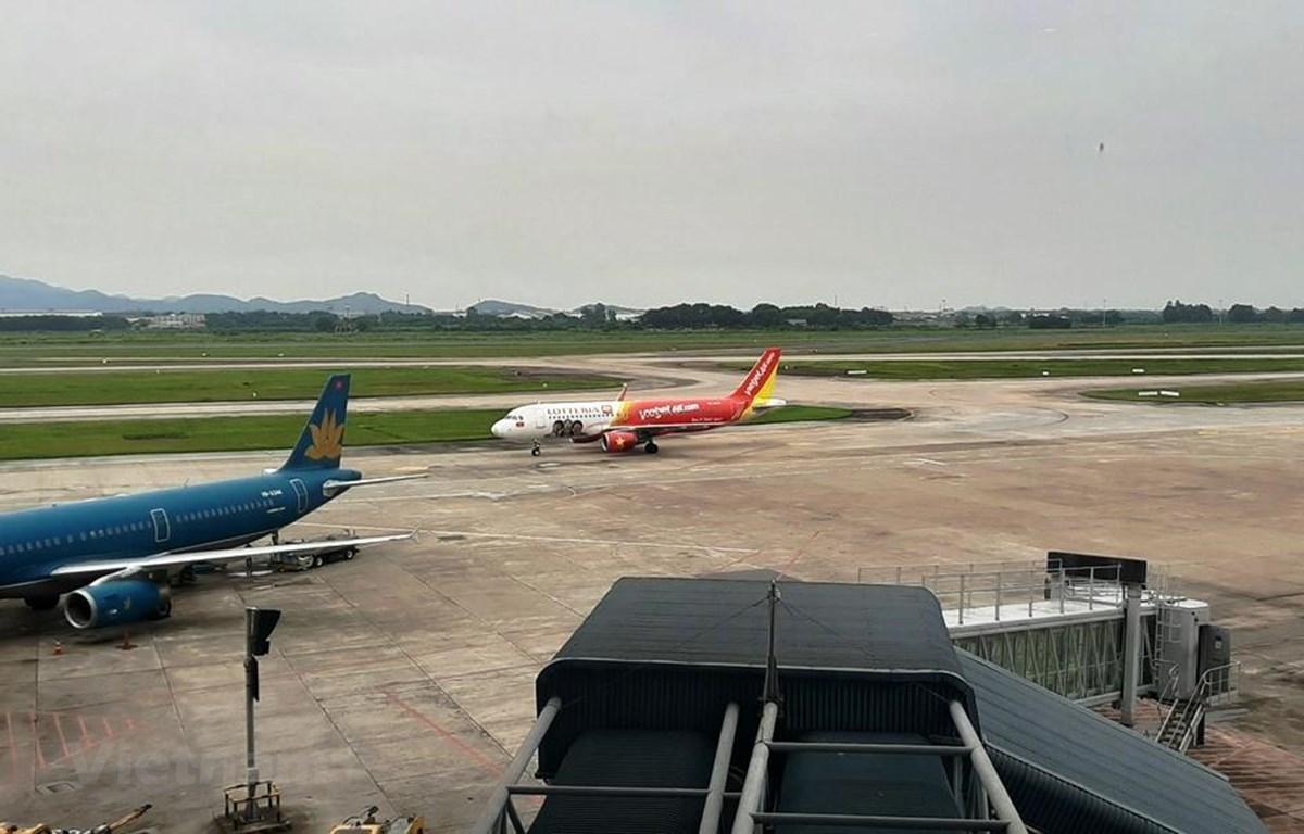 Các hãng hàng không Việt giảm tần suất, dừng một số đường bay Hàn Quốc do lo ngại dịch COVID-19 đang bùng phát nhanh chóng ở nước này. (Ảnh: Việt Hùng/Vietnam+)