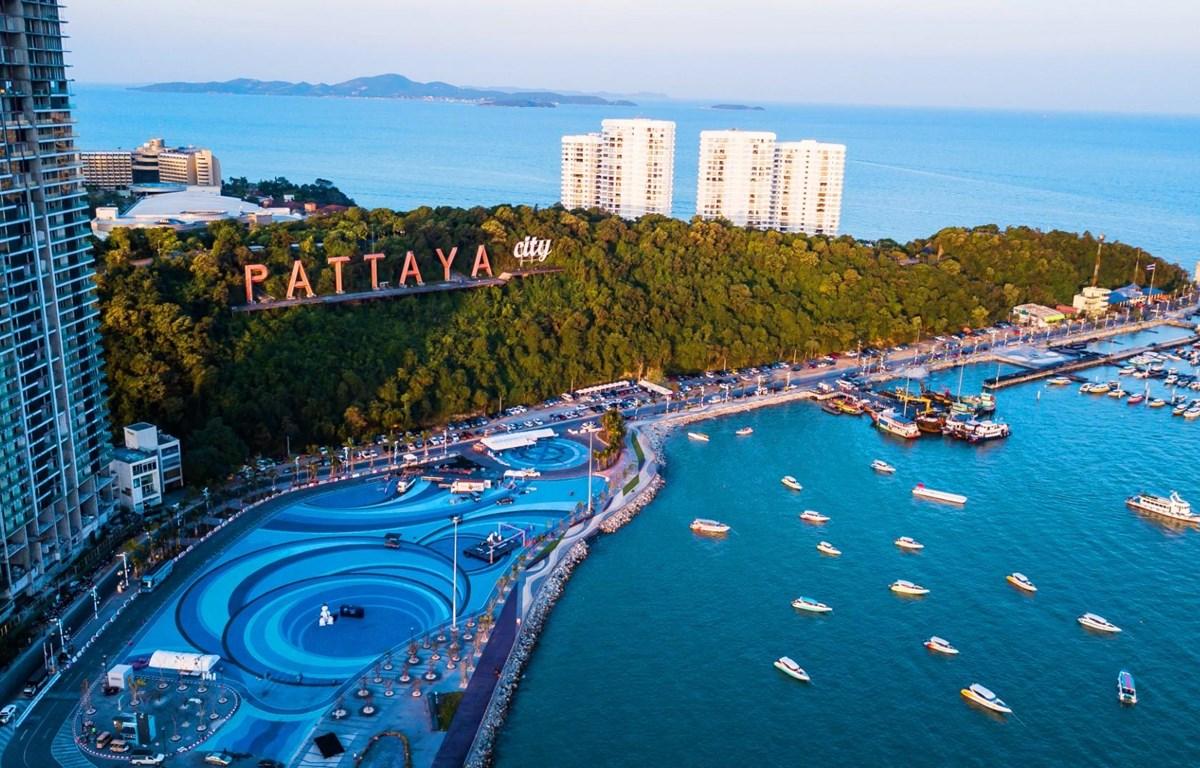 Điểm du lịch Pattaya nổi tiếng của Thái Lan. (Ảnh: CTV/Vietnam+)
